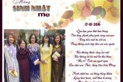 Mừng Sinh Nhật Mẹ 17.10.2016